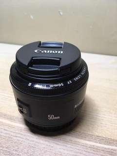 Canon 50mm F1.8 IO