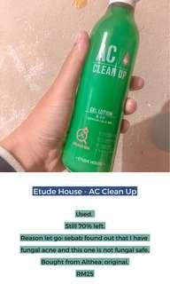 Etude House AC Clean Up Lotion