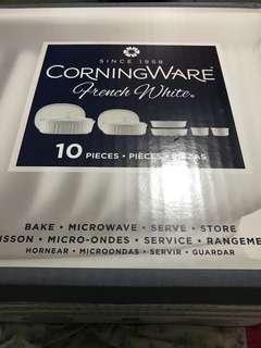 Corningware french white 10pcs