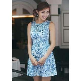FYN Elaine Porcelain Dress
