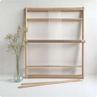 Funem Studio XXL weaving loom with stand Boho woven art