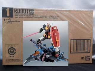Robot魂 rx78 & g-fighter a.n.i.m.e anime 2018魂展限定