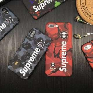 Bape x Supreme Mobile Casing for Iphone 6/6s