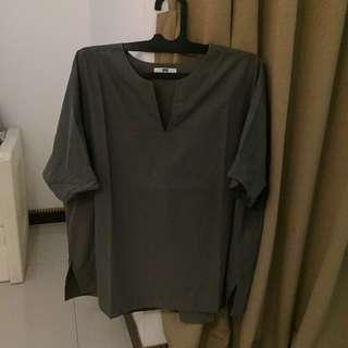 Uniqlo atasan cotton (reprice)