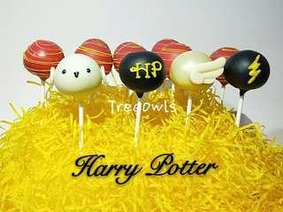Harry Potter Theme Cake Pop ⚡
