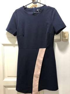 Colour block dress - work and casual