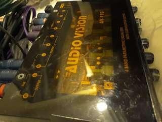 equalizer 4band with subwoofer output