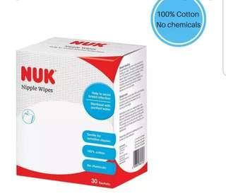 🚚 Nuk nipple wipes