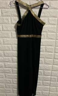 Sexy black one piece dress 👗