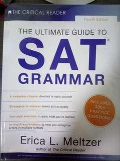 The Critical Reader: The Ultimate Guide to SAT Grammar (Fourth Edition) [ by Erica L. Meltzer ]