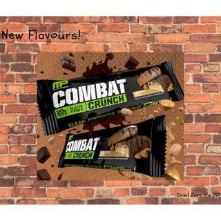 Combat Crunch NEWEST FLAVOURS!! FIRE SALE