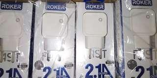 Charger roker fast charging 2.1 A