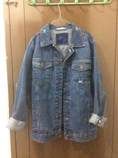 Zara man - Jaket outer denim