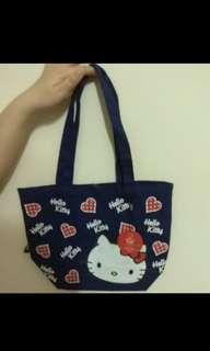 Hello kitty心動帆布手提袋