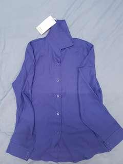New Blouse - Electric Blue