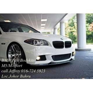 BMW F10 Msport Bodykit With installation