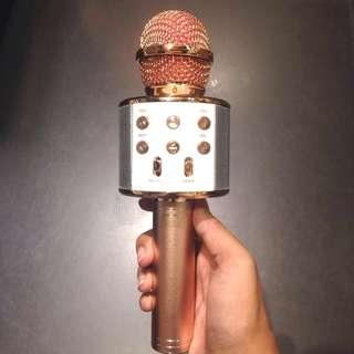 FREEPOS Rosegold Bluetooth Microphone
