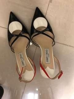 Jimmy Choo low 2cm heels