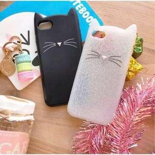 Kitty silicone case iphone/win