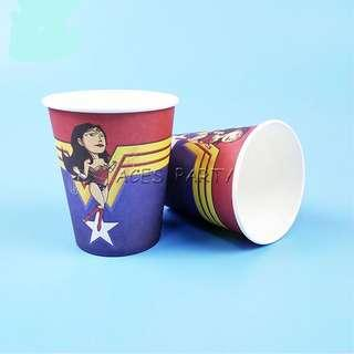 Superheroes Wonder Woman party supplies - party cups