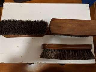 馬毛鞋擦 horsehair shoe brush