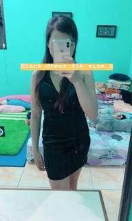 Black dress premium