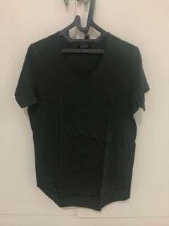 pull and bear olive fit shirt bukan zara h&m