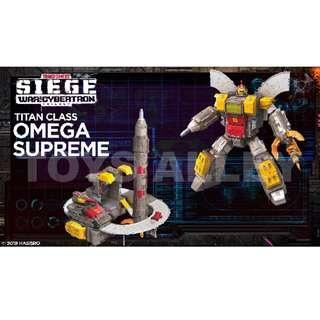 [Preorder] Transformers Siege War for Cybertron Series Titan Class Omega Supreme