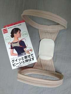 🚚 日本正貨Dr.PRO 防駝背 美姿調節帶 9成新