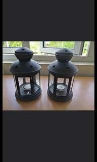 Candlewick Lamps (1 pair)