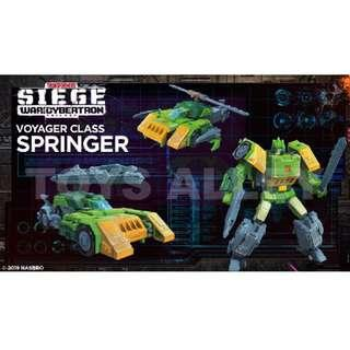 [Preorder] Transformers Siege War for Cybertron Series Voyager Class Springer