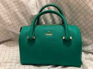 Kate Spade Cameron Street Small Lane in Emerald Ring