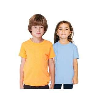 Kids Plain T-Shirt / T-shirt Kosong Budak