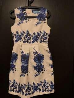 Nice flower pattern dress