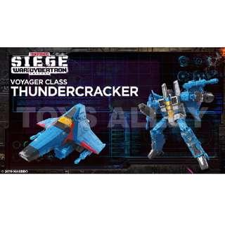 [Preorder] Transformers Siege War for Cybertron Series Voyager Class Thundercracker
