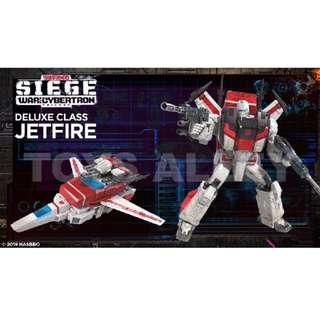 [Preorder] Transformers Siege War for Cybertron Series Commander Class Jetfire