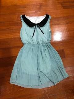 Women Sleeveless Chiffon Dress