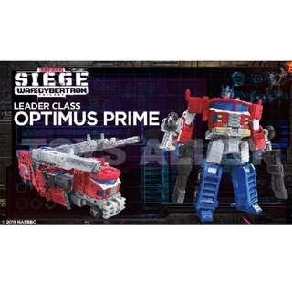 [Preorder] Transformers Siege War for Cybertron Series Leader Class Optimus Prime