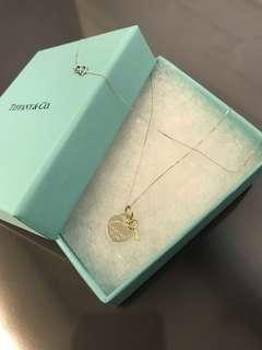 Instock‼️Tiffany & Co Heart & Key Necklace: Genuine 18K|750 Gold