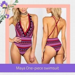 SALE Bohemian One Piece Swimsuit