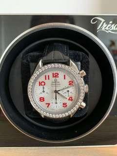 Omega Speedmaster Ladies Automatic Watch with diamonds