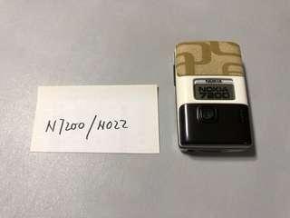 Nokia N7200 - N022 Dummy Phone  原廠手機模型 經典手機型號  電影電視道具,陳列,珍藏紀念, 回憶那些年我們用過的手機