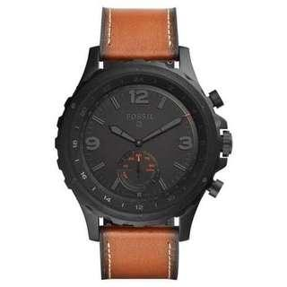 FOSSIL Q nate brown leather