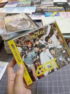 GOT7 JAPAN ALBUM <LOVE TRAIN>