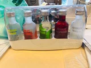 Vodka miniature set