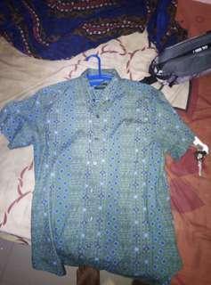 Baju batik fos