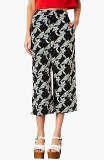 (REPRICED) TOPSHOP PETITE Floral Print Trousers/Culottes