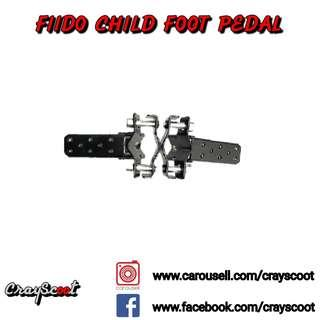 🚚 Fiido Child Foot Pedal