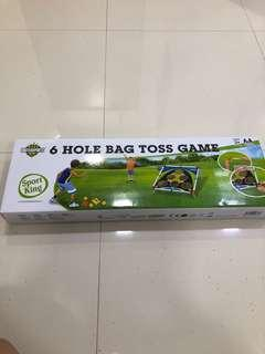 🚚 Hole bag toss game