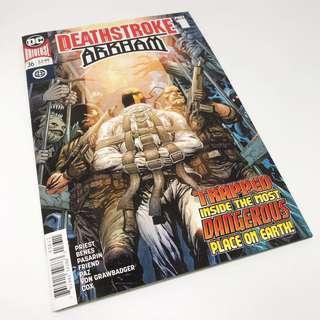 Deathstroke #36: Deathstroke Arkham #1